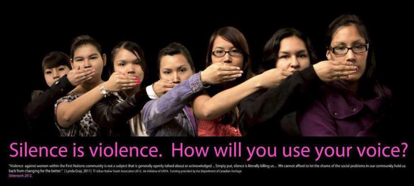 Silence is violence. how will you use your voice?