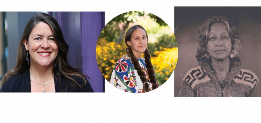 Sacred Breath Nov 2020 artists Traci Sorell, Michelle Jacob, and Fern Renville