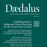 Cover of the Spring 2018 Issue of Daedalus