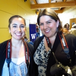Native Voices students Jacqueline Johnson and Melissa Woodrow