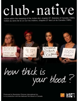 Club Native film poster