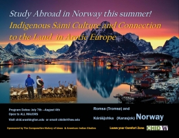 Poster for Study Abroad in Norway