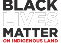 Black Lives Matter on Indigenous Lands article cover photo