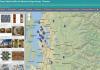 Sample shot of new website identifying Coast Salish art in King County