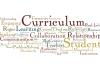 Generic curriculum word cloud